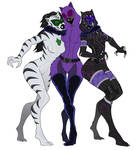 Tali - White tiger / Catwoman / Black panther