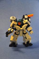 MgN Fat Snake Commando by MittenNinja