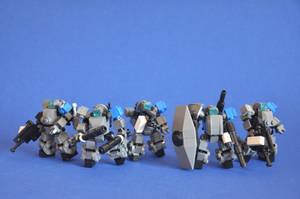 Azure Trident Company by MittenNinja