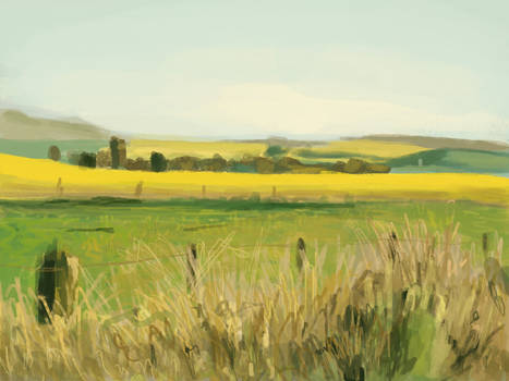 Landscape speed painting 2
