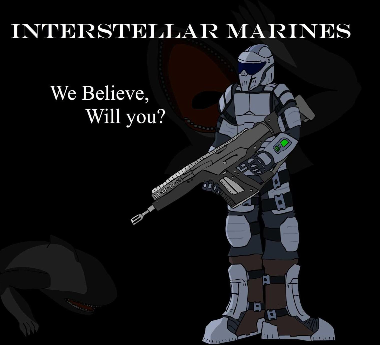 Interstellar Marines Wallpaper a Interstellar Marines