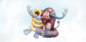 Sooza and Flum Ox background