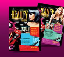 Beauty Salon Business Flyer by satgur