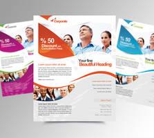 Minimal Corporate Business Flyer V2 by satgur