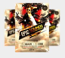 Epic Sound Music Party Flyer by satgur