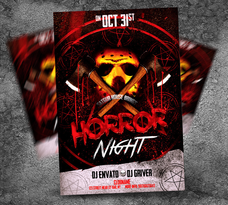 Halloween Party Flyer by satgur on DeviantArt – Halloween Party Flyer