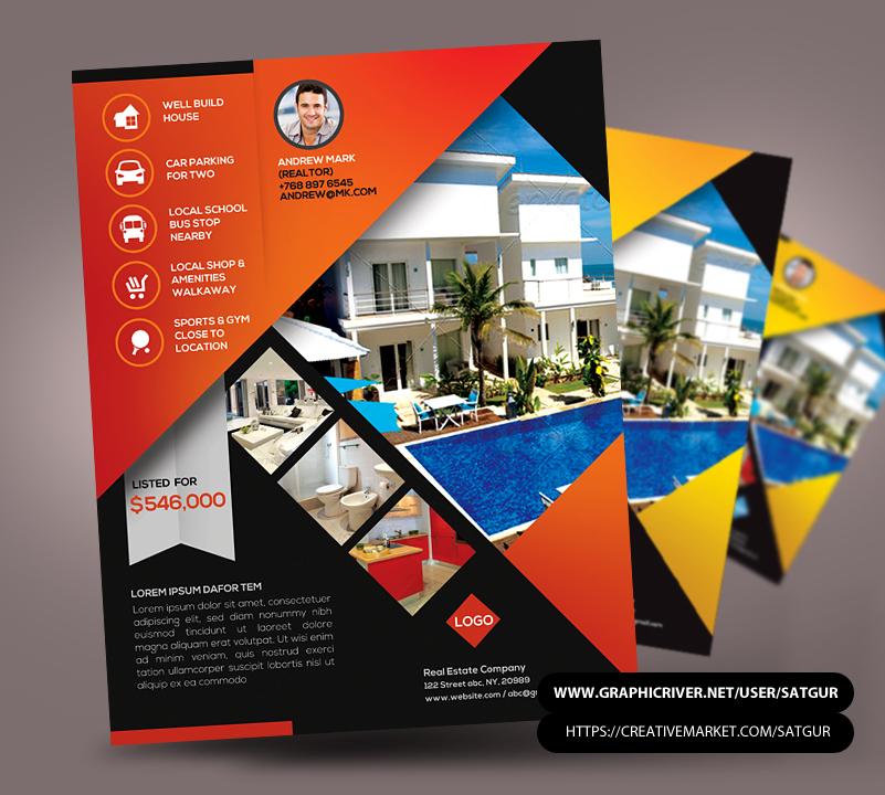 Real Estate / New Listing Flyer by satgur on DeviantArt