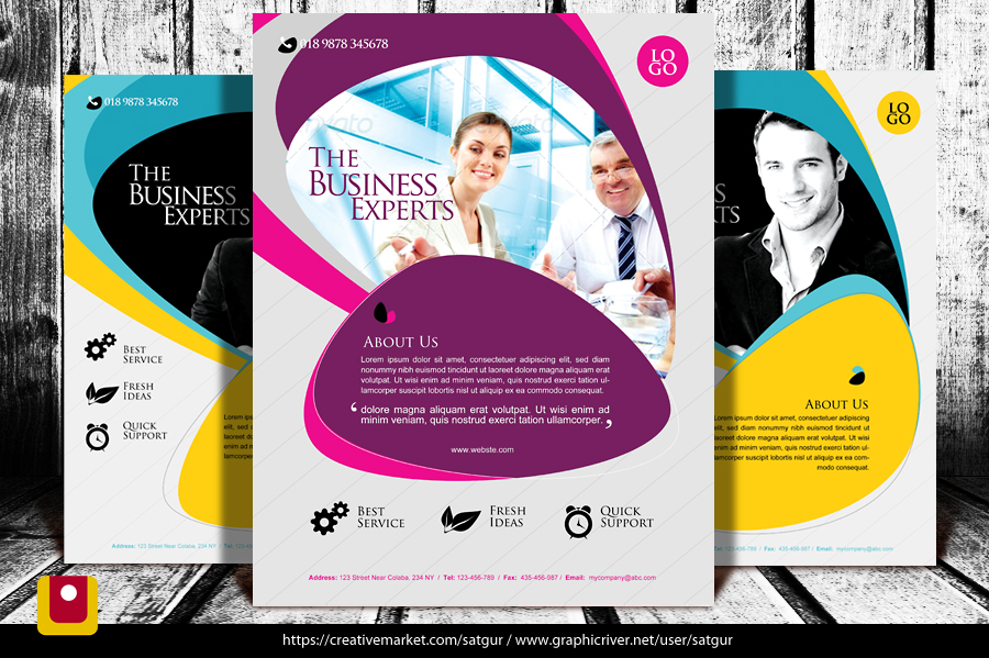 Business Flyer / Corporate flyer by satgur
