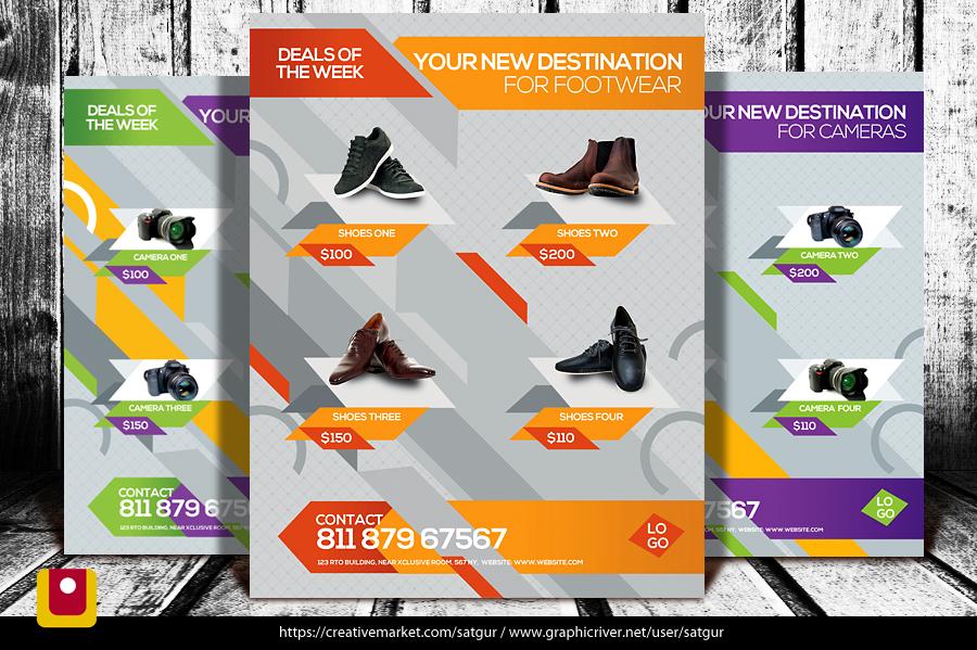 Product Promotion Flyer by satgur