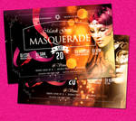Mardi Gras Carnival Flyer vol4 by satgur