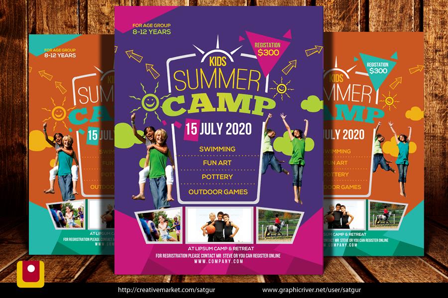 Summer Camp Flyer by satgur