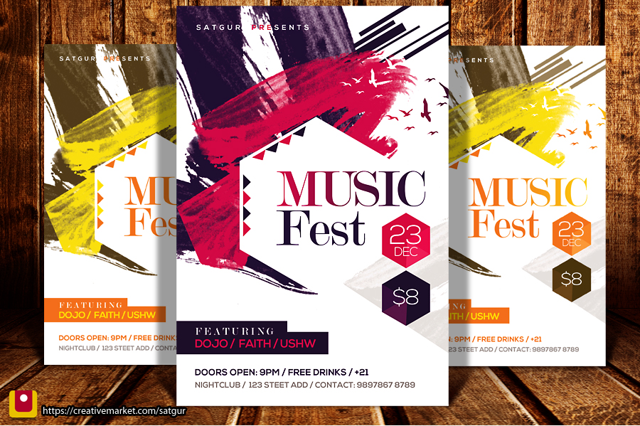 Music Fest Flyer by satgur