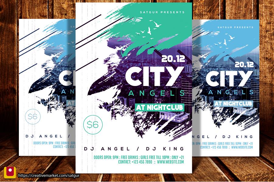 City Angels Flyer by satgur