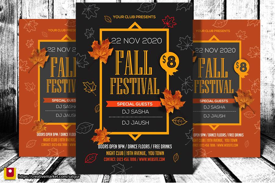 Fall Fest Flyer by satgur