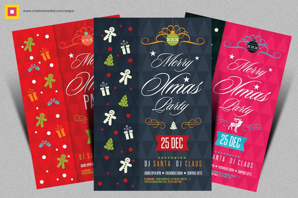 Christmas Flyer / Xmas Flyer by satgur