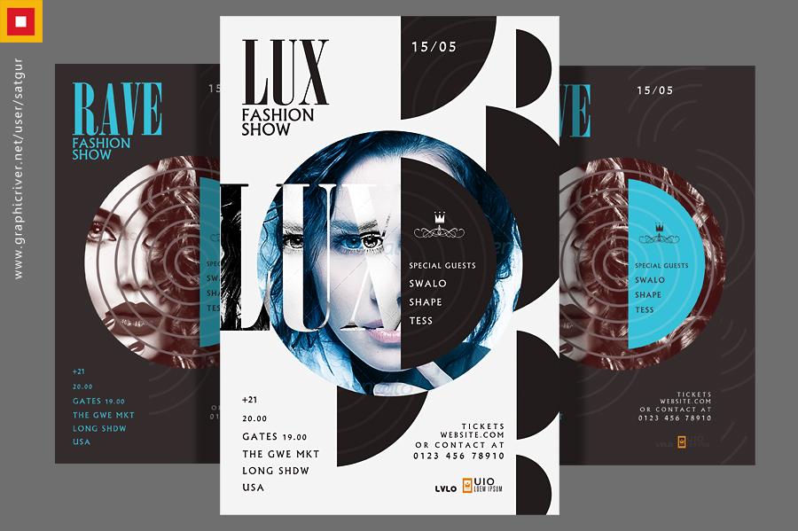 Lux Fashion Show Flyer by satgur