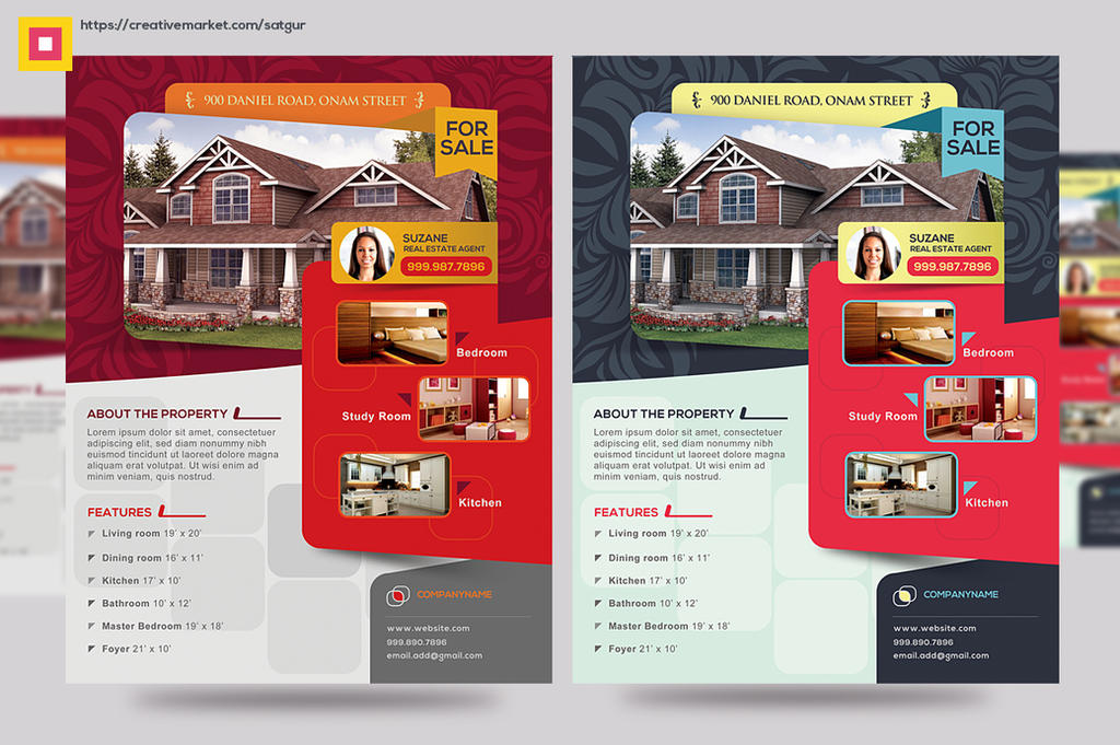 Open House Promotion Flyer by satgur