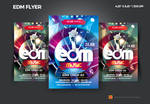 Edm party flyer by satgur