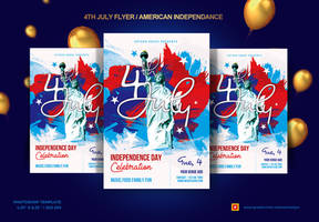 4th of July flyer / American IndependanceFlyer by satgur