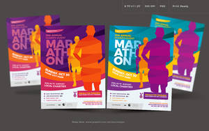 Marathon Flyer by satgur