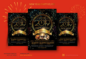 New Year Flyer by satgur