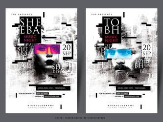 DJ Concert Flyer by satgur