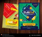 Pickleball Flyer Template by satgur