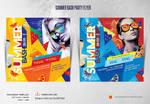 Summer Bash Party Flyer by satgur