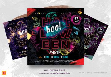 Halloween Flyer by satgur
