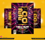 New Year Flyer Template by satgur