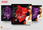Seduction Night Flyer Template by satgur
