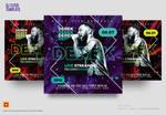 DJ Flyer Template by satgur