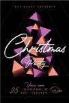 Minimal Christmas Party Flyer by satgur