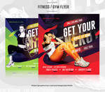 Fitness Flyer / Gym Flyer Template by satgur