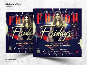 Nightclub Flyer Template by satgur