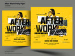 After Work Party Flyer Template by satgur