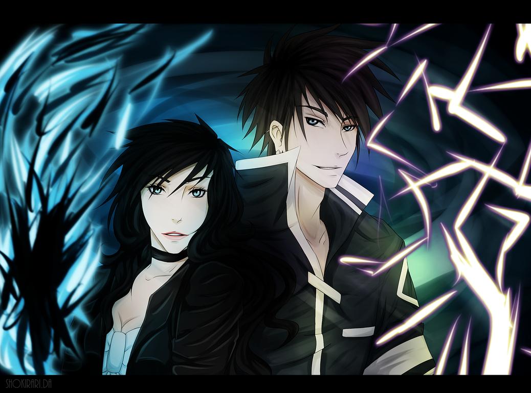 Kasumi and Kiyoshi by SuriiKurii