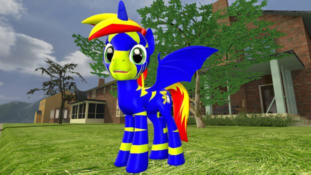 Lightning Specter  Gmod pony model