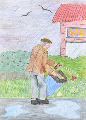 The Litter Picker of Gloucester