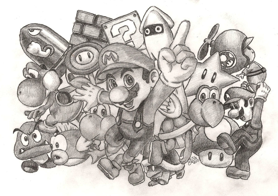 My cool drawing by metalmario2345 on deviantart for Cool detailed drawings