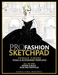 PRO Fashion Sketchpad for Fashion Designers