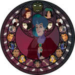 Lady Tremaine Stained Glass