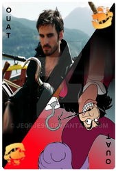 OUAT Card Captain Hook by jeorje90