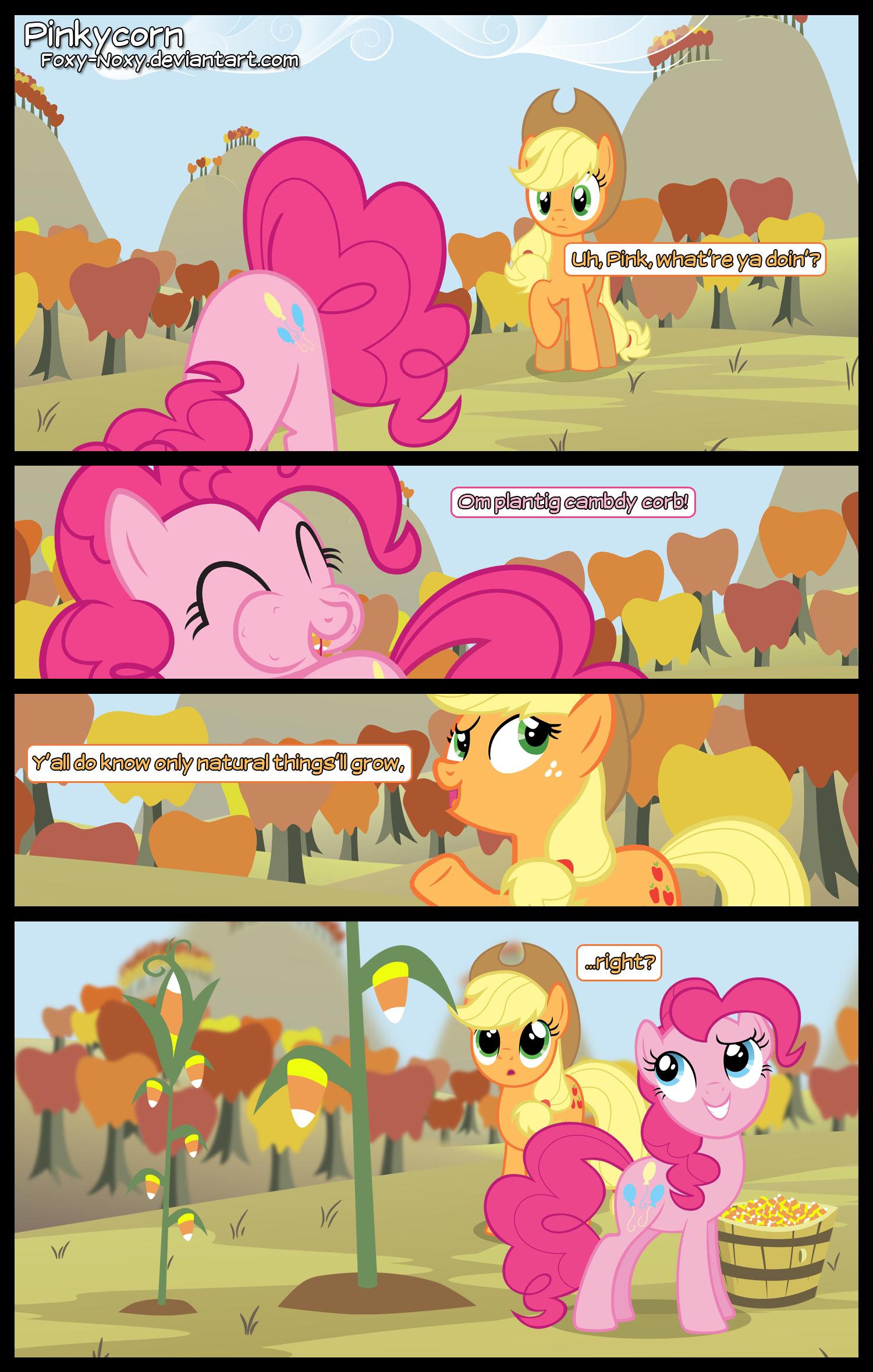 Pinkycorn by Foxy-Noxy