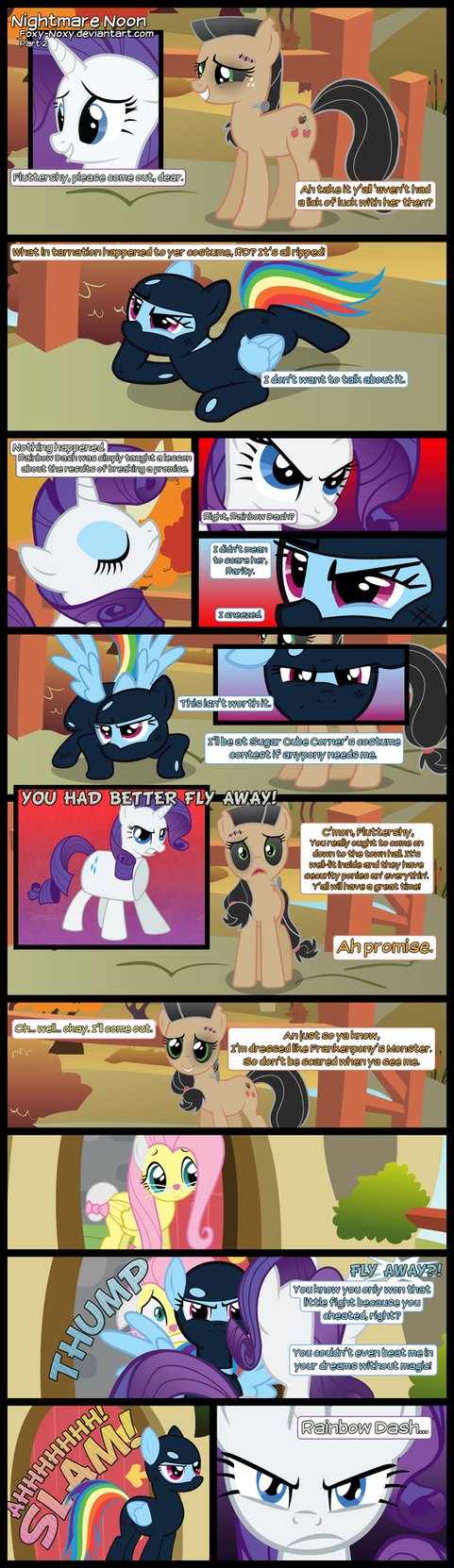 Nightmare Noon - Part 2 by Foxy-Noxy