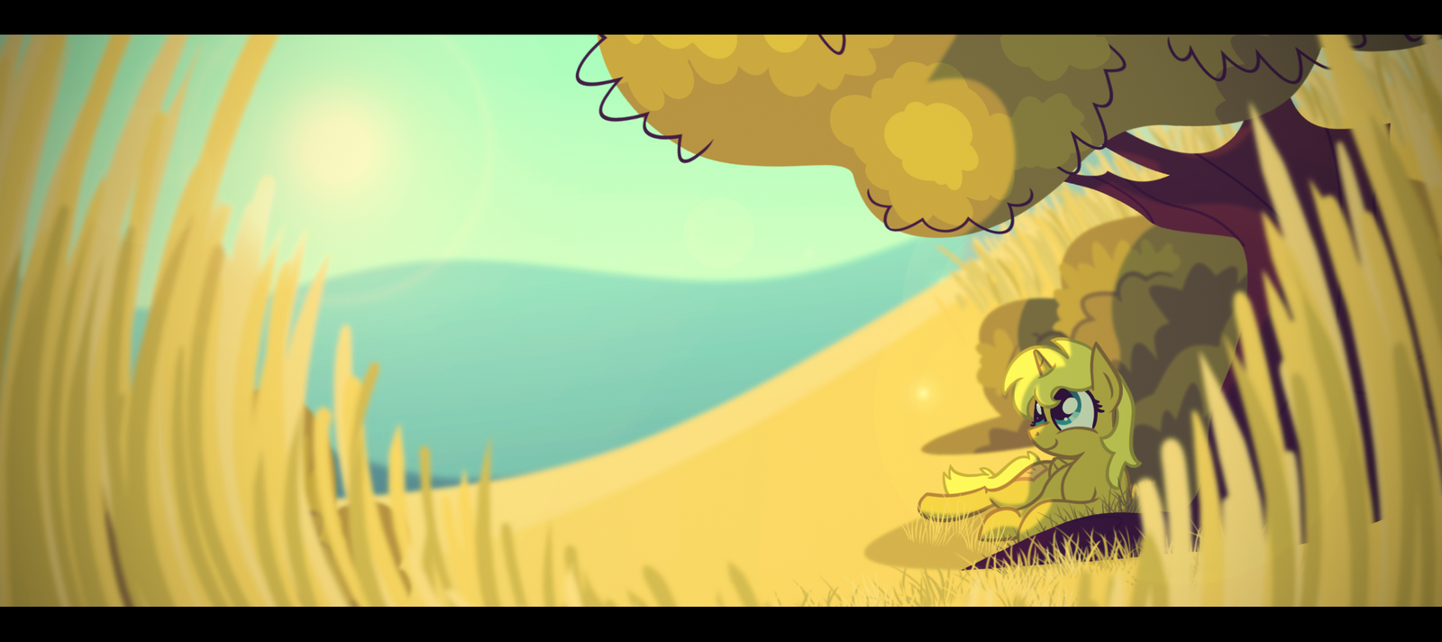 Field of Gold by Foxy-Noxy