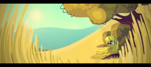 Field of Gold by Foxy-Noxy