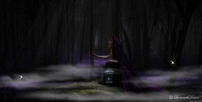 Witch of the Purple Haze by AnaLeysha