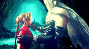 Play Arts Kai - Aerith and Sephiroth - Talking by FFSteF09