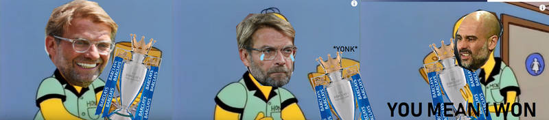 You mean my team won, Klopp? by FFSteF09